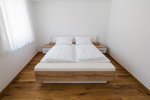 Schlafzimmer 1.OG Doppelbett